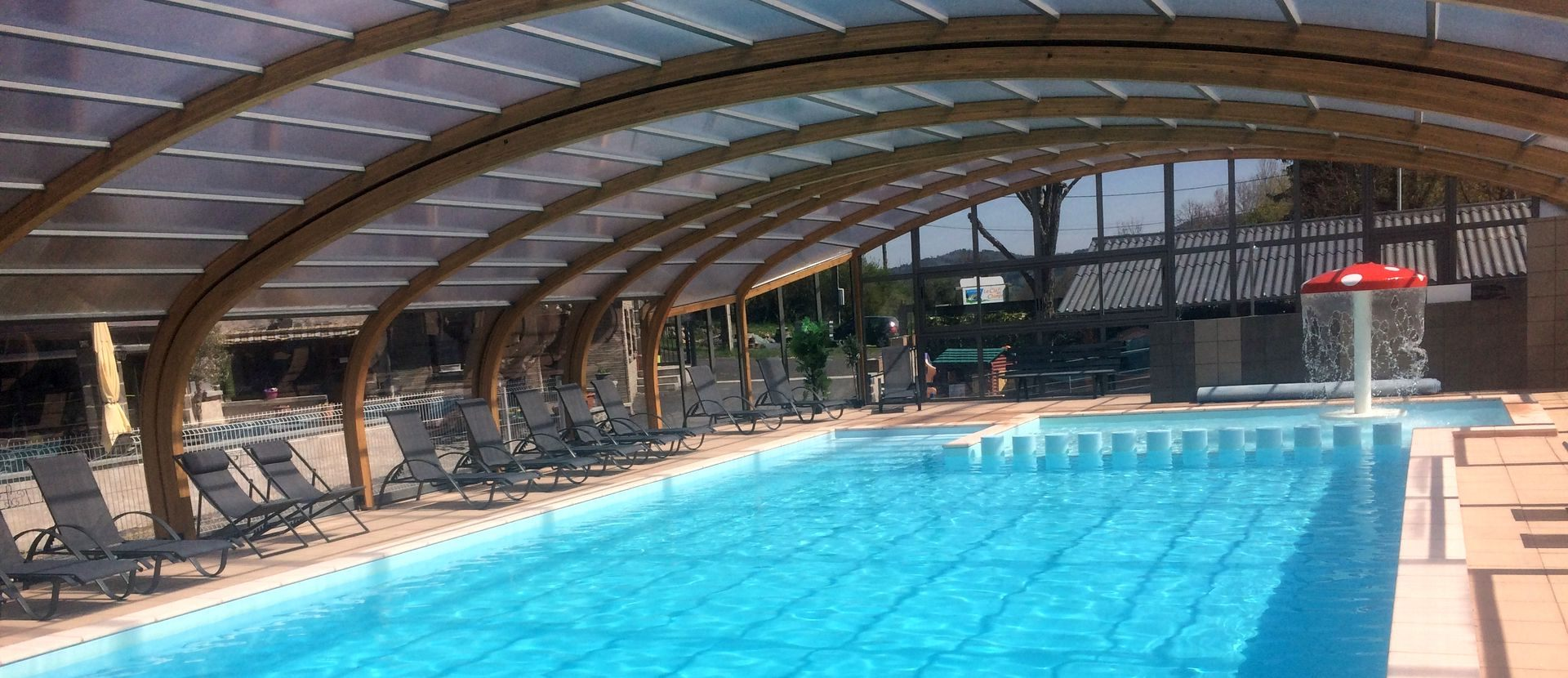 Perfect Camping In Auvergne With Indoor And Heated Swimming Pool